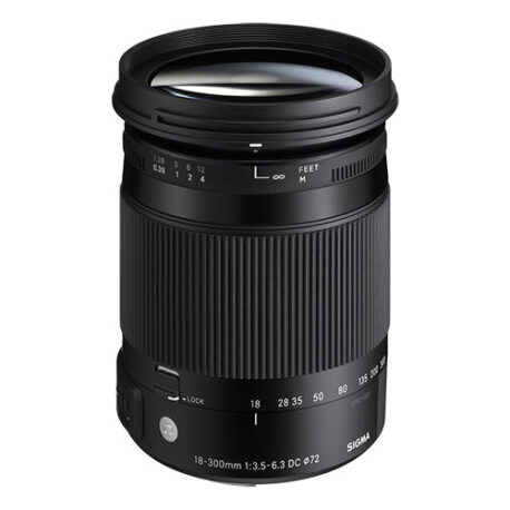 18-300mm F3.5-6.3 DC MACRO OS HSM | Contemporary