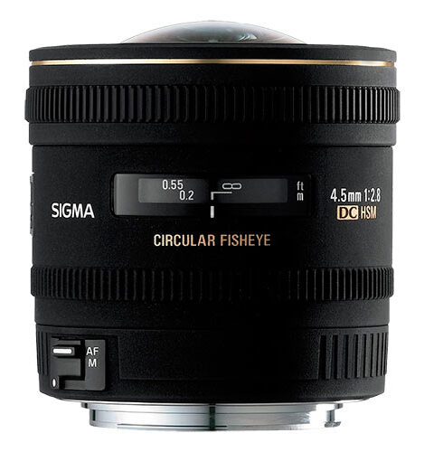 Sigma 4.5mm f2.8 Fisheye